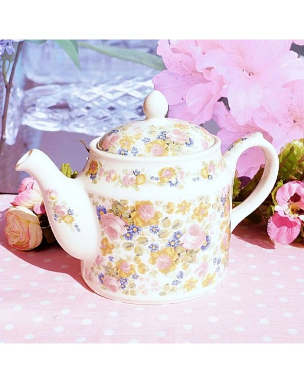 (OUT OF STOCK) SADLER OLDE CHINTZ VINTAGE TEAPOT